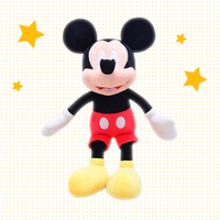 Disney Genuine Authorized 12 inch Mickey Minnie Mouse Plush Toy Stuffed Animals Soft Pillow Toys for Children Gift