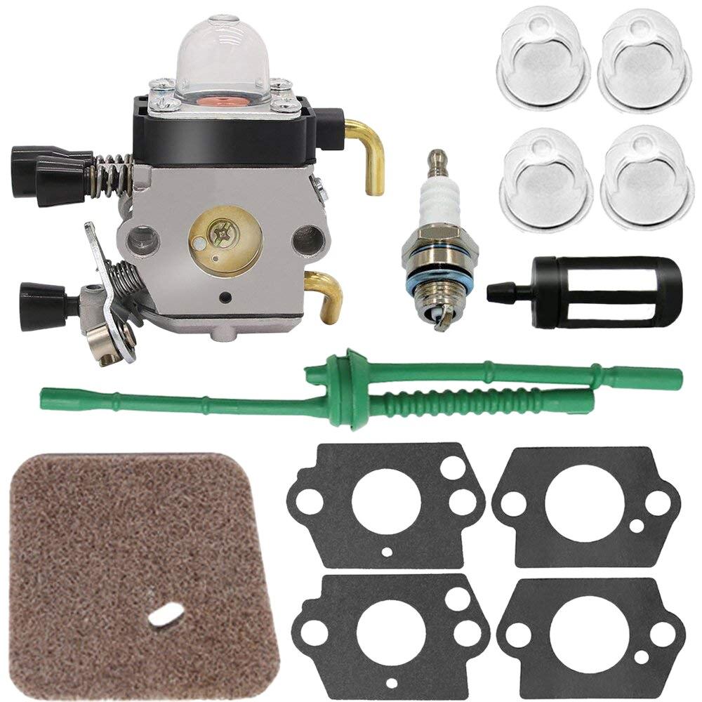 Carburateur pour Stihl FS80 Carburateur-STIHL FC55 FC75 FC85 FS310 FS38 FS45 FS45C FS45L FS46 FS55 FS55RC FS55T FS74 FS75 FS76