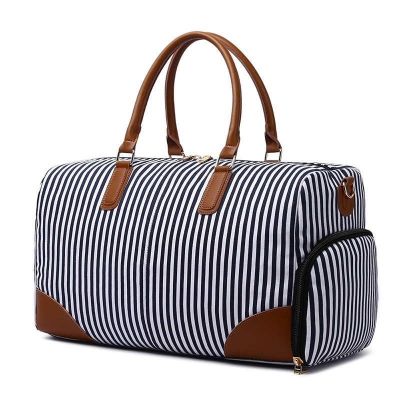 Canvas Duffle Bag Travel Duffel Overnight Weekend Bags With Shoes Compartment For Men Hand Luggage Tote Bolsas Waterproof