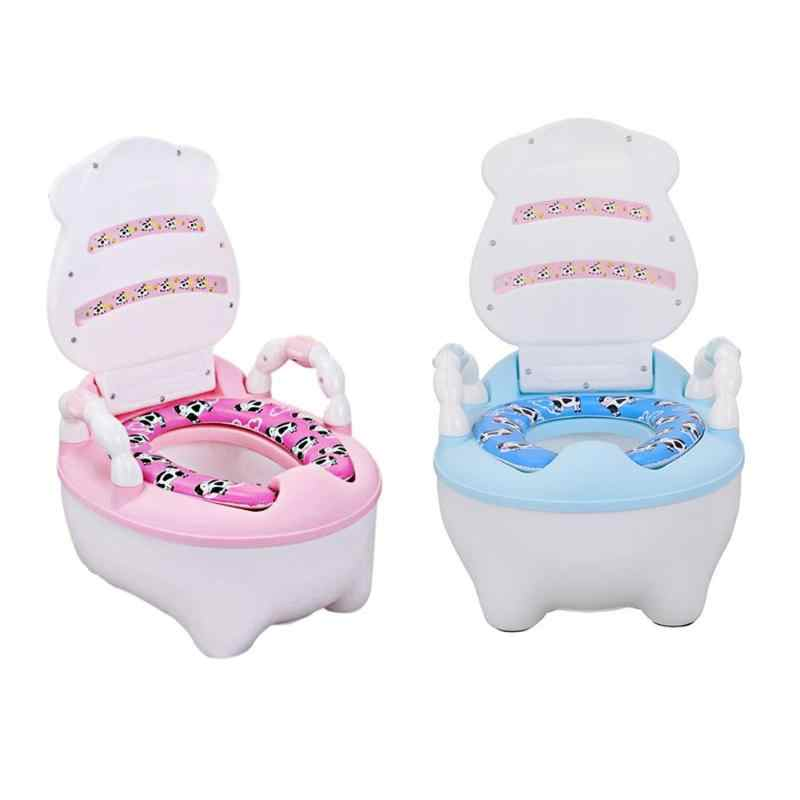 Portable Toilet Training Seat Urinal Cushion Chair Baby Travel Potty Seat Toddler Toilet Seat Creative Educational Toys