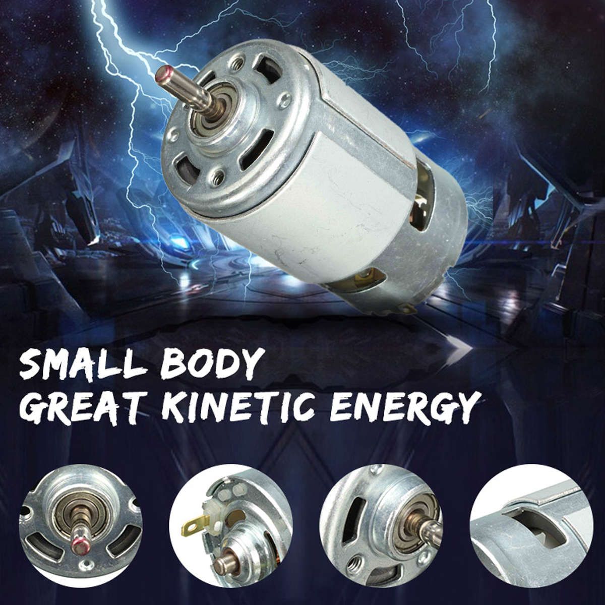 DC 12 v 100 W 1300015000 rpm 775 motor High speed Große drehmoment DC motor Elektrische werkzeug Elektrische maschinen Beste preis