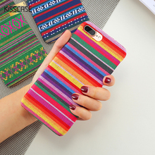 KISSCASE Fabric Cases For iPhone 7 6S 6 Plus 5 5S SE Ultra Case Coque Thin Slim Cover Redmi 4A 4X Note PC Back Hard