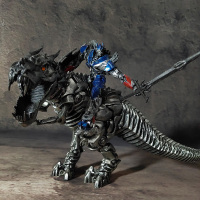 Wei Jiang Transformation Movie 4 Optimus Op Tyrannosaurus Rex Hand Dinosaur Model Pvc Action Kid Dolls Toy Skyreach Statue