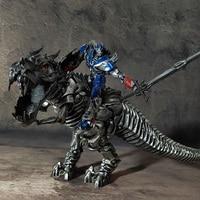 Wei Jiang Transformation Movie 4 Optimus Op Tyrannosaurus Rex Hand Dinosaur Model Pvc Action Kid Dolls Toy Skyreach Statue