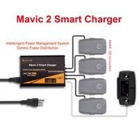 HOBBYINRC 5 EM 1 RC Smart Carregador de Bateria para DJI Mavic 2 Pro/Mavic 2 Zoom 4 Zangão Baterias carregamento rápido DA UE/UA/REINO UNIDO/EUA Plug|Kits de acessórios p/ drone| |  -