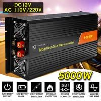 KROAK Inverter 12V 110V/220V 10000W Peaks Modified Sine Wave 5000W Voltage Transformer Power Inverter Converter Car Charge USB