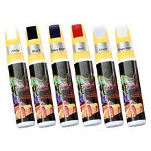 6 Color Car Paint Repair Pen Scratch Repair Pen Paint Repair Red Black White Silver Gray Paint Touch Pen Automotive Car Vehicle стилус prolife pen 017 5 silver red