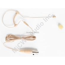 Free Shipping Omni-directional Single Ear Wireless Headset Microphone for AKG WMS40 KM200 WMS450 C555 Samson Gemini Mini 3Pin
