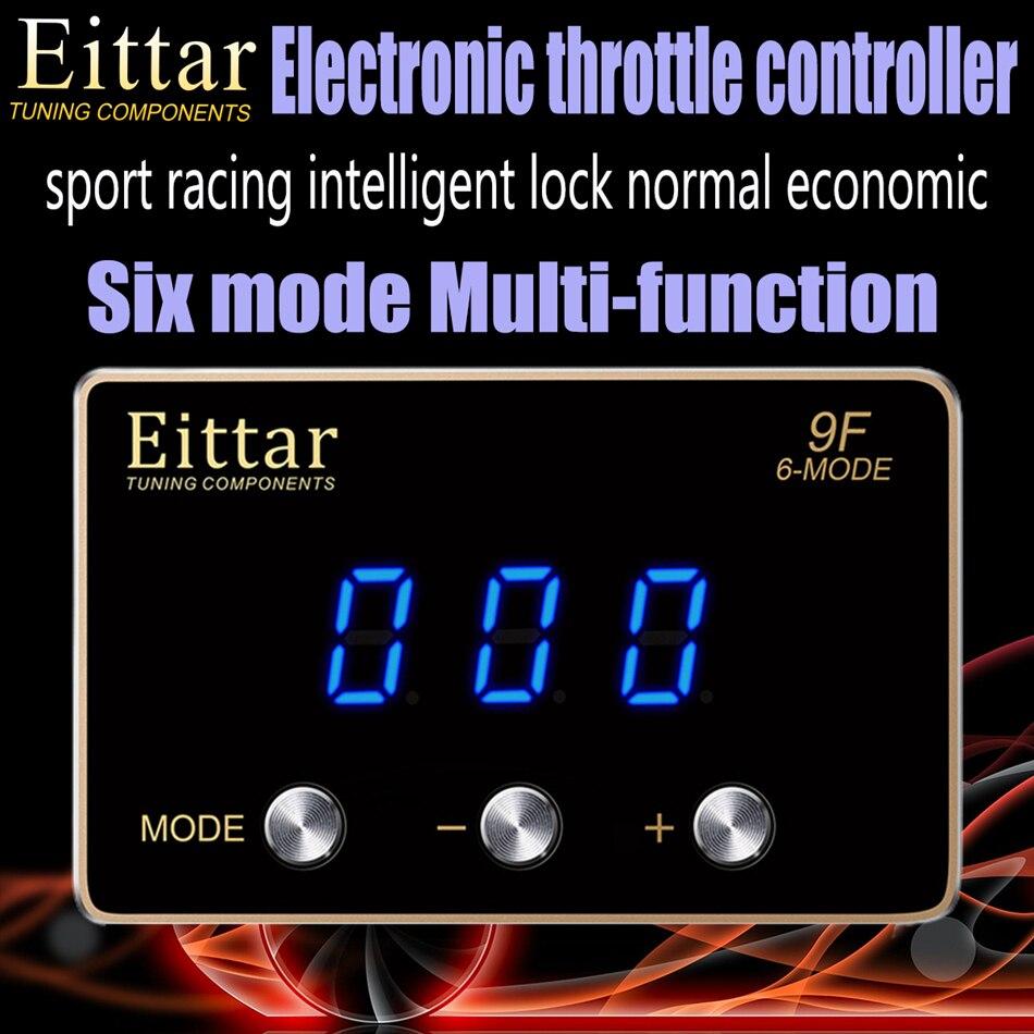 Eittar 電子スロットルコントローラアクセルホンダフィット GK3/4 GK5/6 2013.9 +