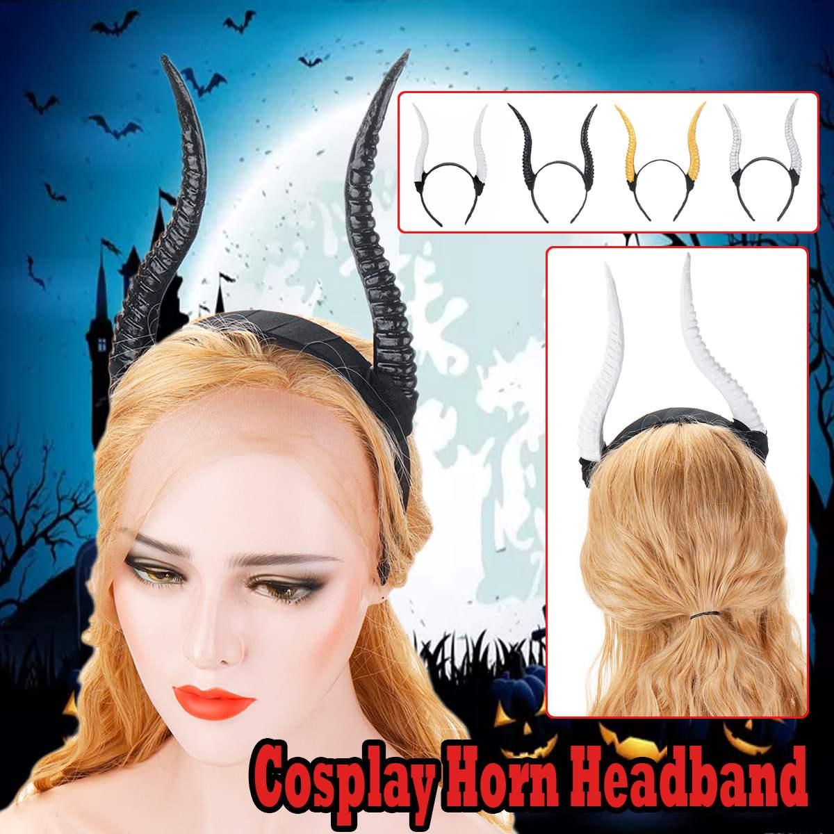 Mori Girl Antelope Sheep Hair Horn Hoop Headdress Hairband Headband Cosplay Gift