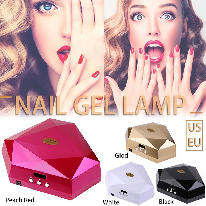 60W LED UV Nail Lamp For UV Gel Polish Curing Professional Nail Dryer60W LED UV Nail Lamp For UV Gel Polish Curing Professional Nail Dryer