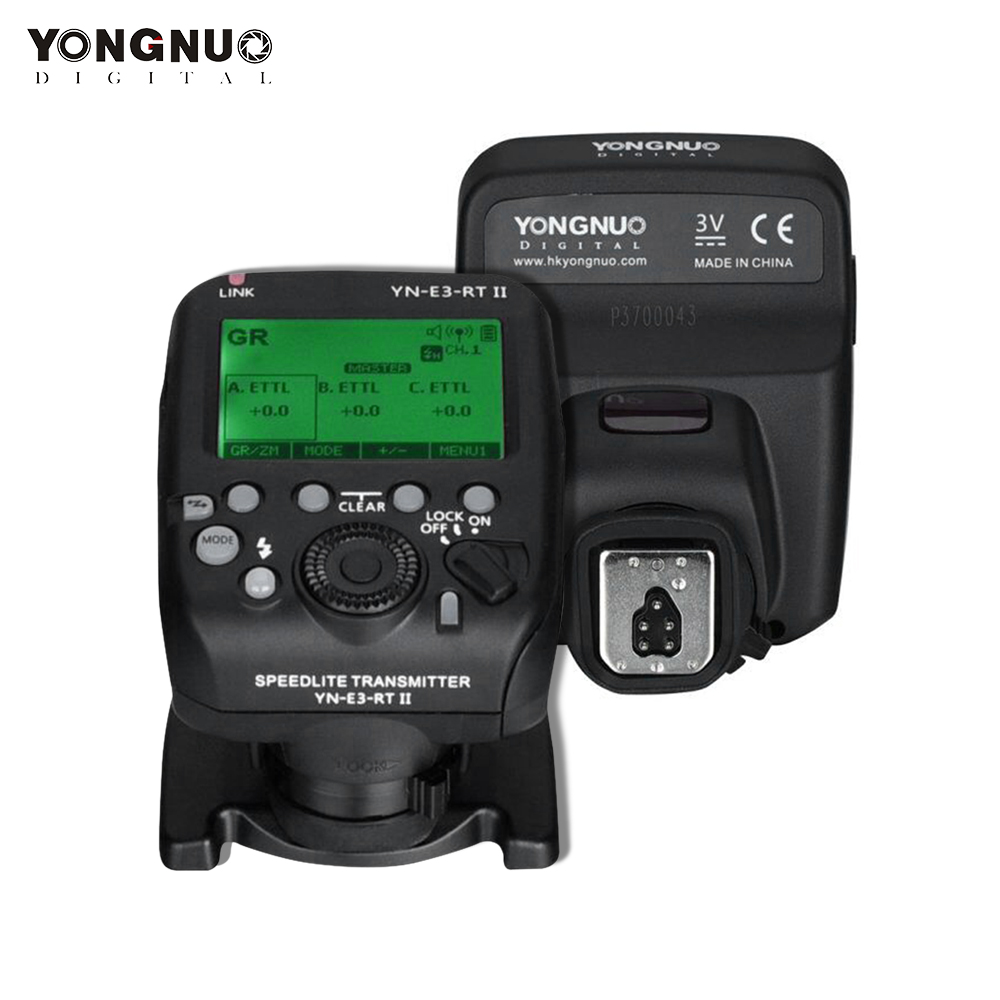 YONGNUO YN E3 RT II On Camera Flash Speedlite Transmitter Flash Trigger Compatible for ST E3