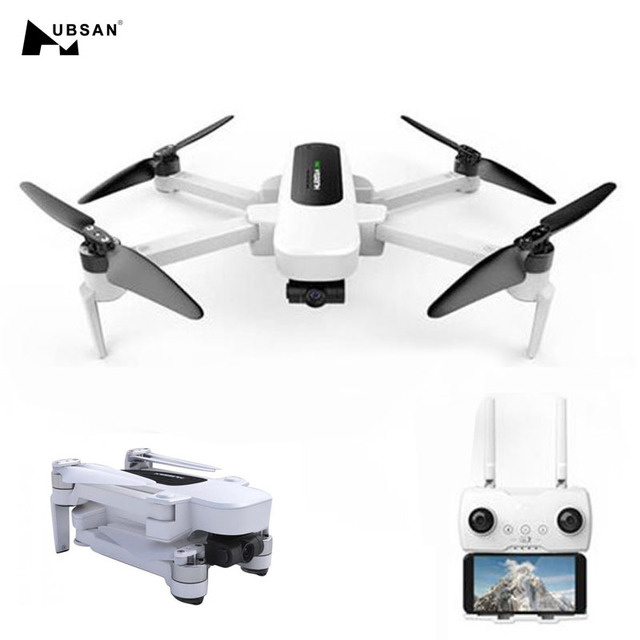 US $399 99  Original Hubsan H117S Zino GPS 5 8G 1KM FPV RC Drone Quadcopter  With 4K UHD Camera 3 Axis Gimbal UAV RTF Panoramic Filming-in RC