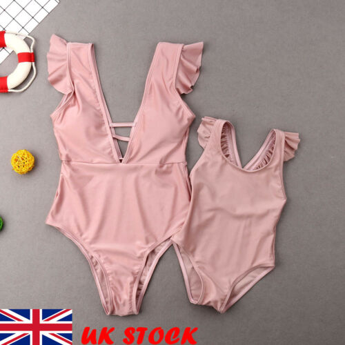 Matching Outfit Mother Daughter Bikini Set Family Summer Swimwear Bathing Suits