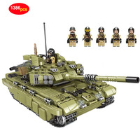 XINGBAO Army Series Military Super building blocks Tiger tank Legoed technic city Police Special forces soldier Bricks D35