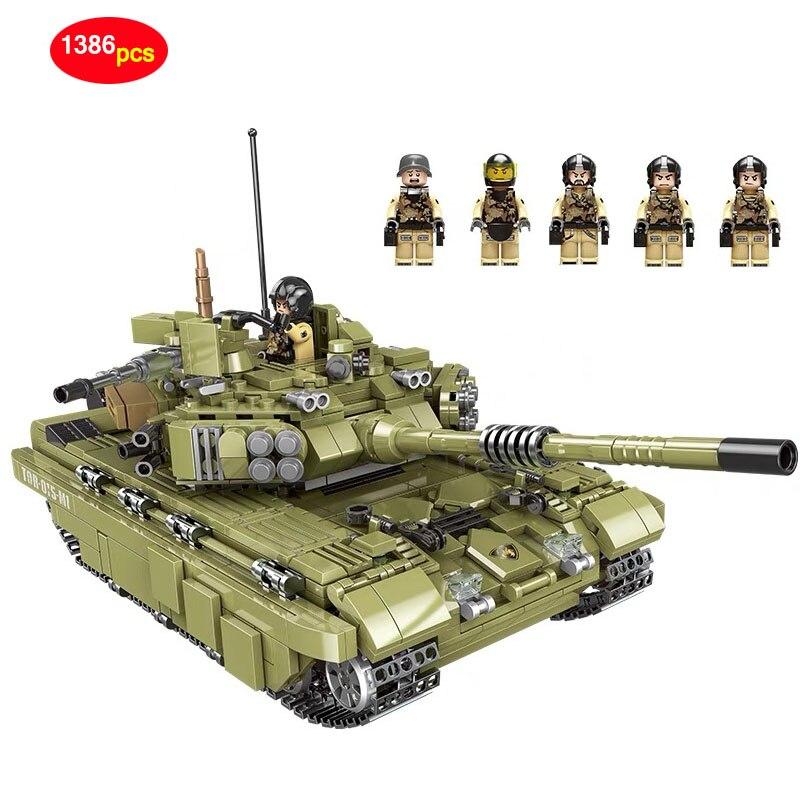 XINGBAO armée série militaire Super blocs de construction tigre réservoir Legoed technique ville Police forces spéciales soldat briques D35