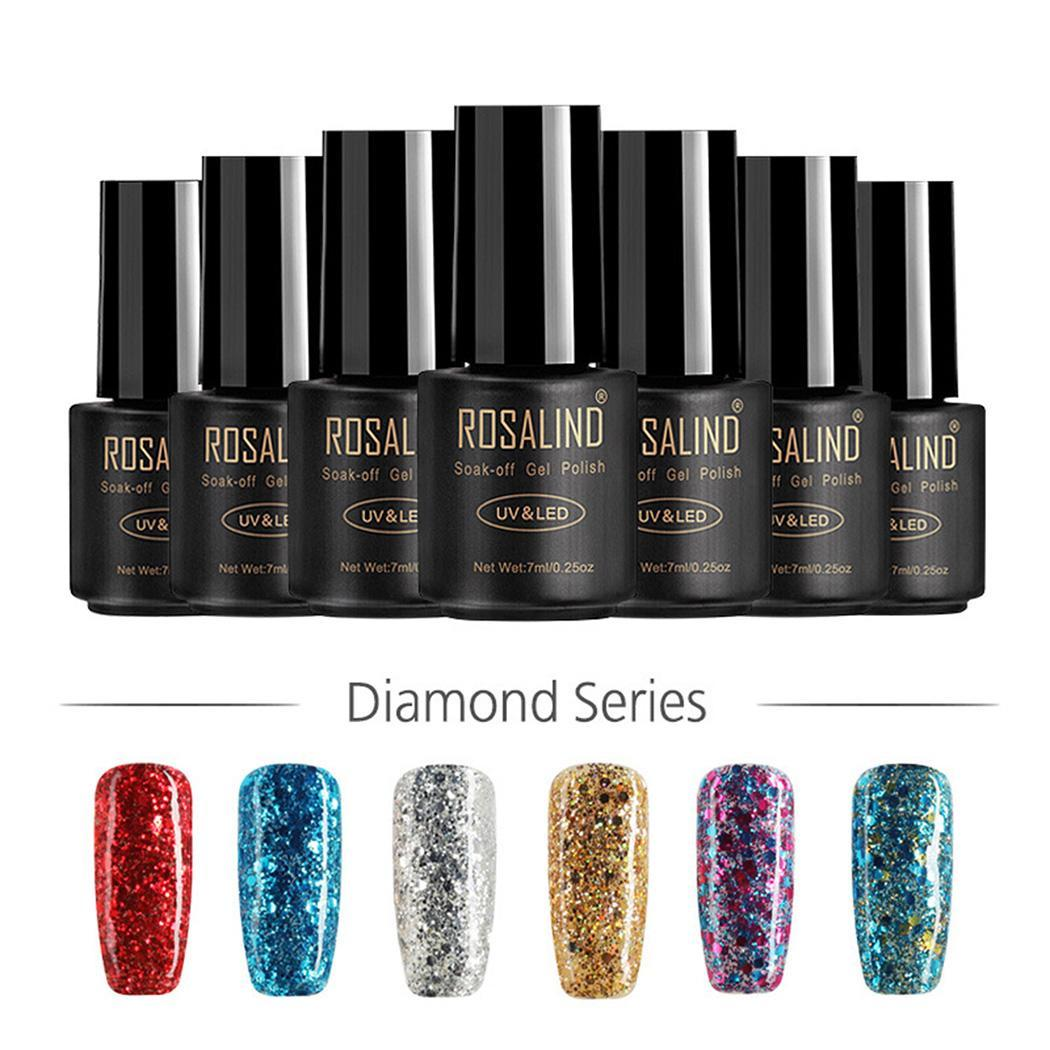 New Decoration Art Manicure Nail Fashion 7ml Women Glitter 0inch Polish 2 Colors 11 Nail 5cm Nail