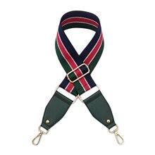 Handbags Strap Nylon Striped Woven for Crossbody Shoulder Bag Belts Handbag Adjustable Accessories 120cm Gift