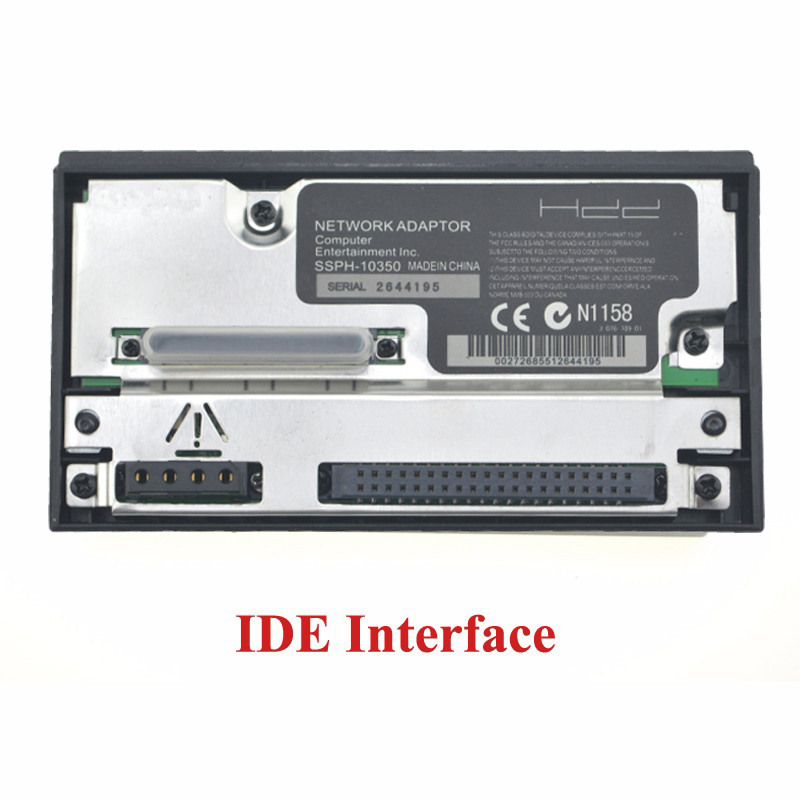 IDE Network Adapter Adaptor For Sony PS2 Fat Game Console IDE Socket HDD SCPH-10350 For Sony Playstation 2 Fat Sata Socket