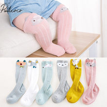 2018 Brand New 1-3Y Newborn Toddler Baby Kids Girl Boy Warm Stocking Cotton Print Cotton Warm Baby Stockings 6 Style 1 Pair(China)