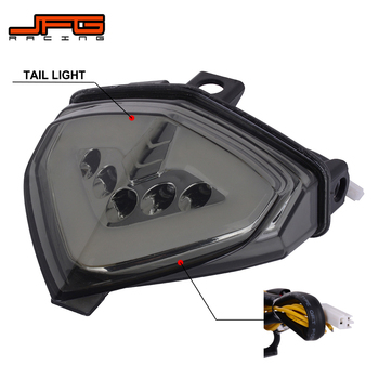 Motorcycle Integrated LED Rear Tail Light Turn Signal Brake Light For HONDA CB1000R 2008-2016 CB600F Hornet 07-14 CBR600F 11-14