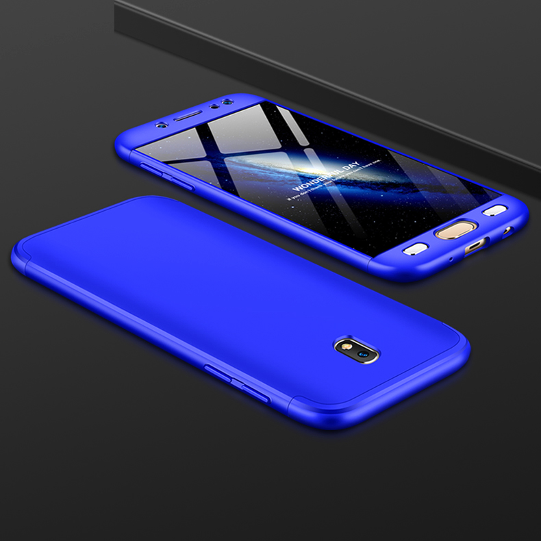 For Samsung J5 2017 J530F Case J530 Colored Matte 360 Degree Full Protection Hard Cover For Samsung Galaxy J5 2017 SM J530F in Fitted Cases from Cellphones Telecommunications