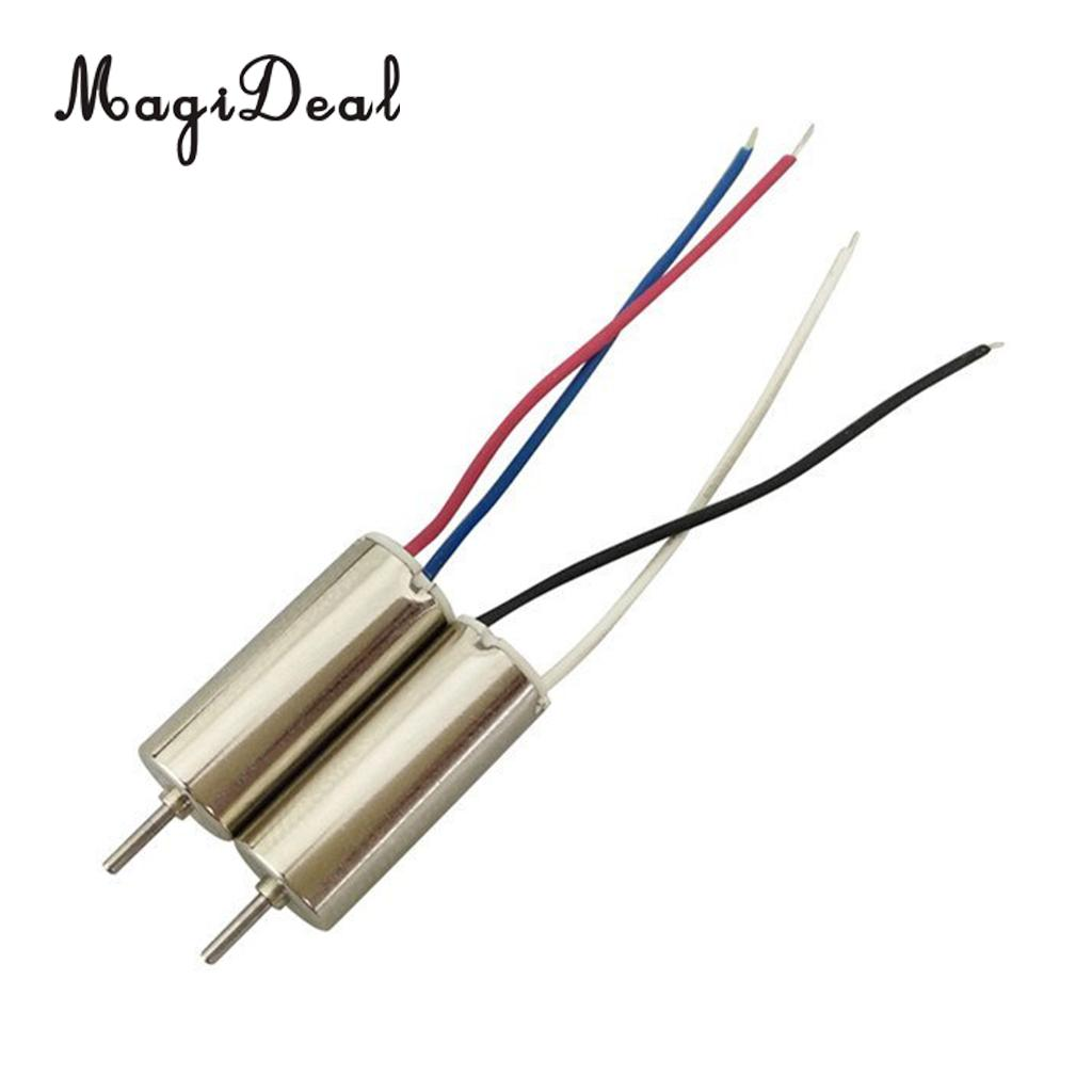 MagiDeal 2Pcs/Lot Metal CW CCW <font><b>Motor</b></font> Electrical Machine for <font><b>SYMA</b></font> <font><b>X20</b></font> X20W RC Drone Quadcopter Spare Parts Accs image