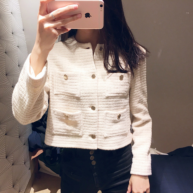 Women Coat 2019 Spring and Summer Sweet Short Casual Jacket Temperament Lady Blouse