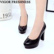 VIGOR frescura bombas zapatos de mujer zapatos de primavera los tacones  altos de las mujeres zapatos de plataforma de zapatos de. 471899b03d82