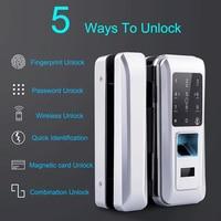 Wood Doors Glass Door Lock Keyless With Touch Keypad For Office and Homes Smart Electronic Door Lock Electric Fingerprint Lock