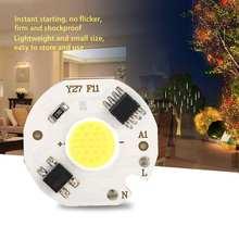 chip led 10PCS AC220V 3W Integrated Chip COB Beads Smart IC Bulb Lamp Light Source High Power LED Chip недорго, оригинальная цена