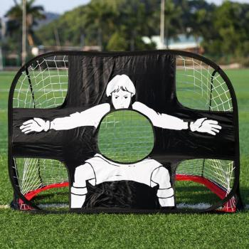 Portable Collapsible Football Goal Training Foldable Net Goal Soccer Ball Practice Gate for Children Students Kid Shooter