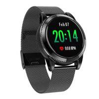 LYNWO M11 1.3 inch Big Screen Smartwatch Breathing Lamp Music HR Blood Pressure Oxygen Multi sport Smart Watch for iOS Android