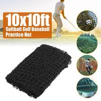 Golf Practice Net Heavy Impact Netting 3meter x 3meter Rope Border on all 4 sides Wire diameter 2 mm