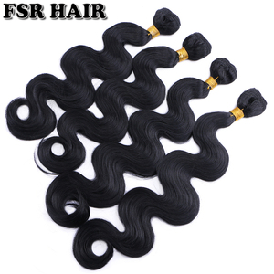Black Body wave hair weave 12-