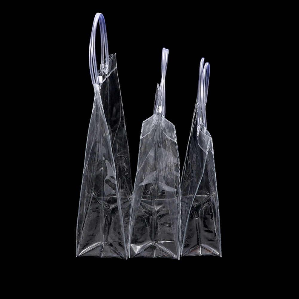1 шт. Новая прозрачная вместительная сумка ПВХ прозрачная хозяйственная сумка через плечо стадион Утвержденная Экологически чистая сумка для хранения