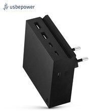 Зарядное устройство USBepower HIDE PD Настенная версия цвет черный/HIDEPDWL_EUBLK