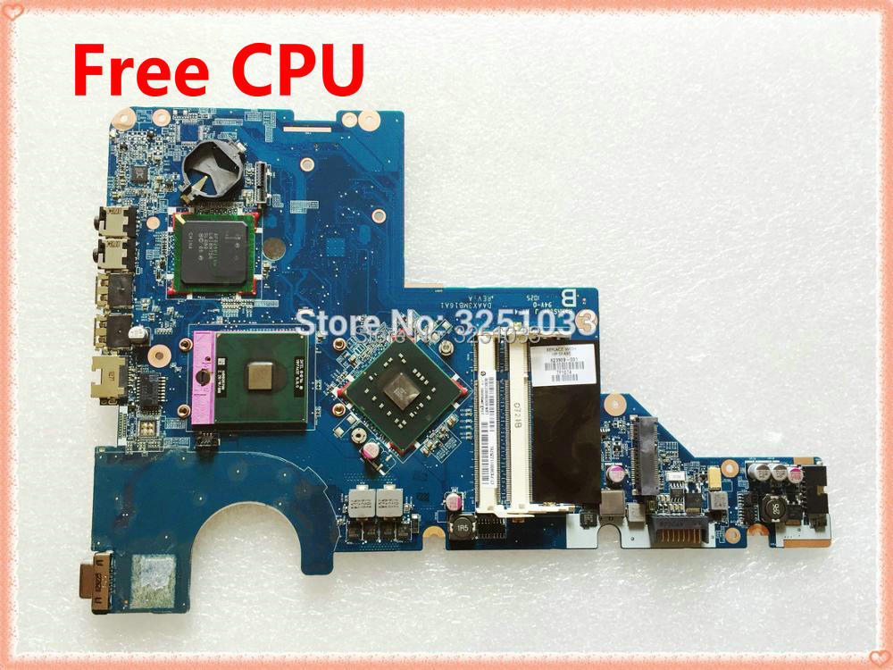 623909-001 DAAX3MB16A1 para Compaq Presario CQ56 para HP G56 placa base + CPU DDR2 probada buena