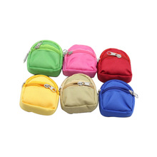 1Pcs Dolls Bag Accessories Backpack For Doll 1/6 Fashion 8 Color Pure Dressing Girl Children Best Christmas Gift