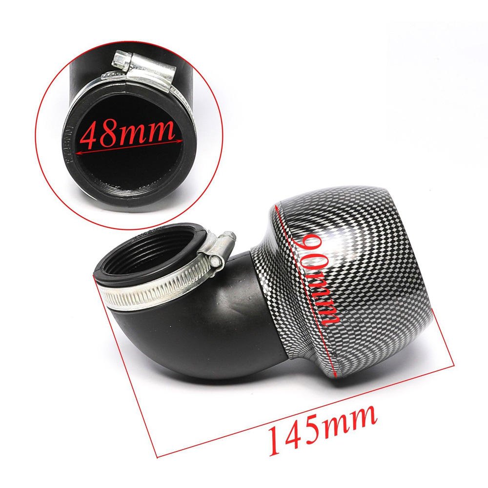 48mm performance air filter fits GY6 150-250CC ATV Go kart pit dirt bike scooter