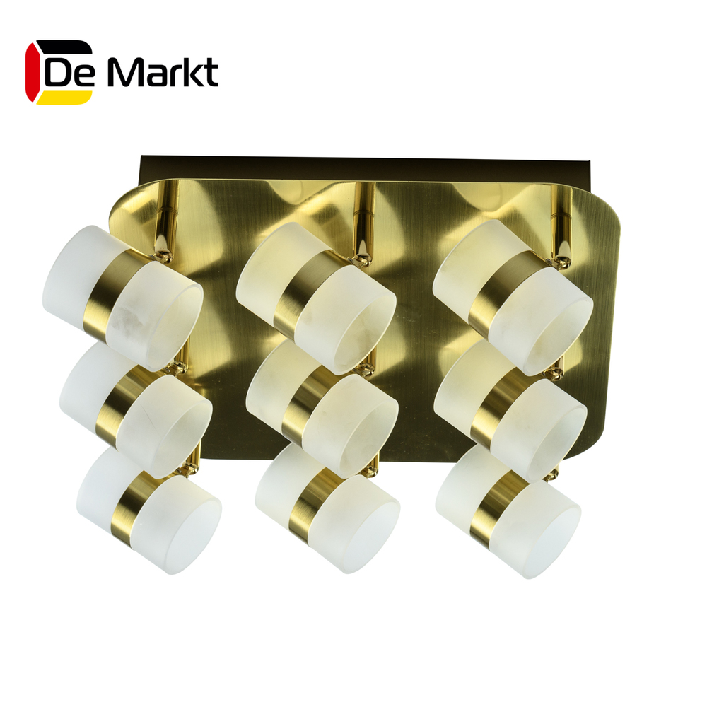LED Bar Lights De Markt 704010909 lamp Mounted On the Indoor Lighting  Chandelier 300w full spectrum led grow panel lamp led grow light 110v 220v for indoor green house grow hydroponic veg tent plants lights
