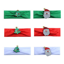 1pcs Cute Santa Headbands Xmas Kids Baby Girl Christmas Headband 2018 New Hot Sale Hair Band Bebes Lovely Accessories Headwear(China)