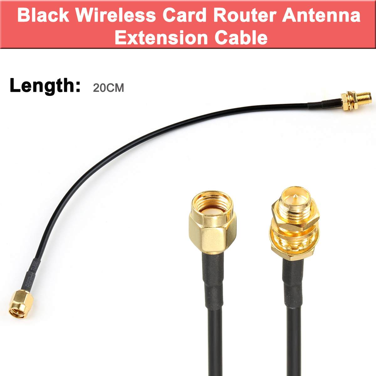 10M SMA Extension Cable Cord Line Antenna Connector For WiFi Wireless Router