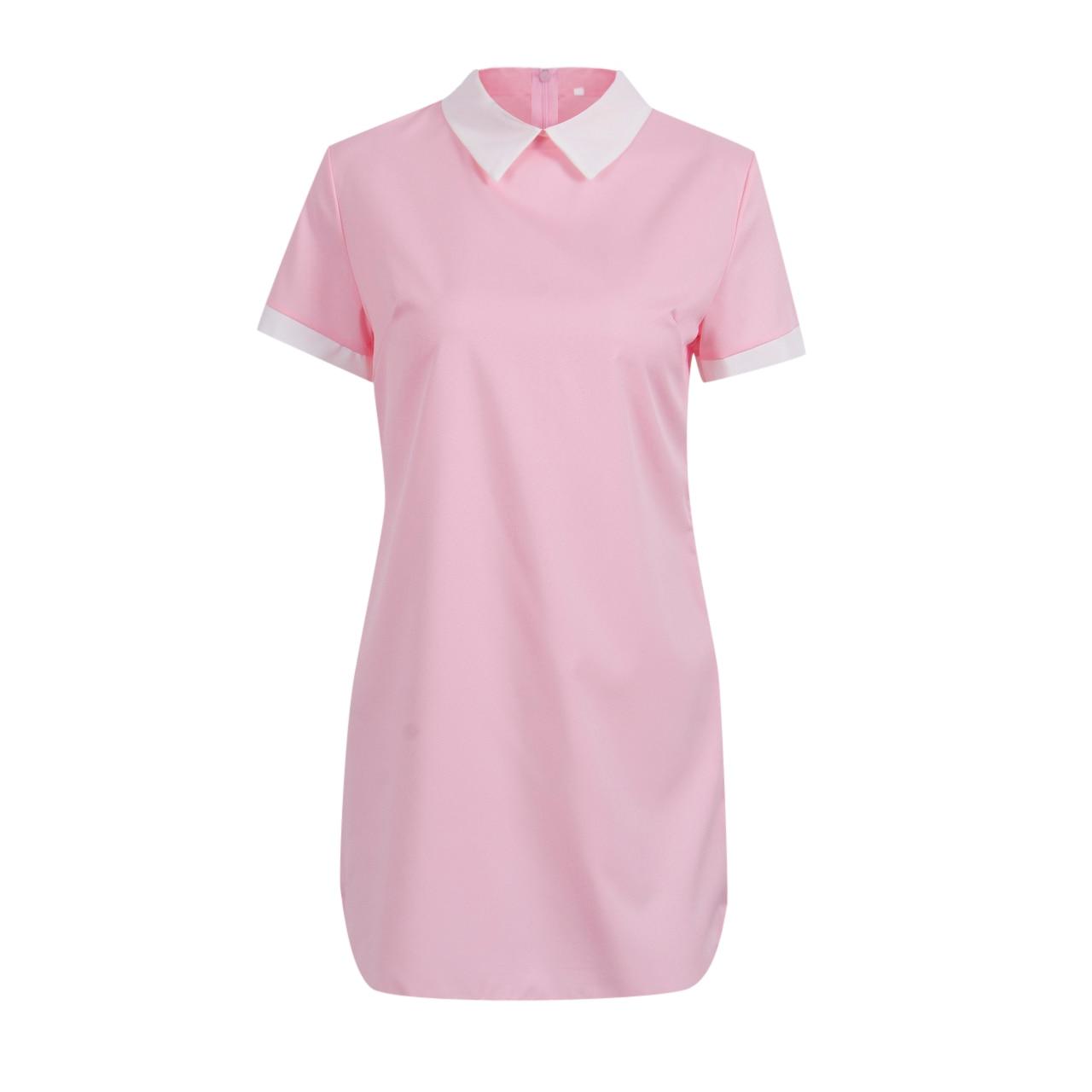Женское платье с коротким рукавом, сексуальное мини-платье
