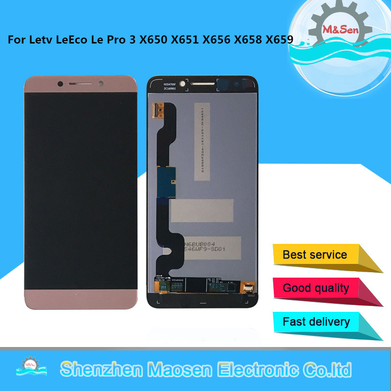 M&Sen For letv Letv <font><b>Le</b></font> Pro 3 Dual AI X6 LeEco <font><b>Le</b></font> Pro 3 X650 <font><b>X651</b></font> X656 X658 X659 X653 LCD Screen Display+Touch Digitizer +Tools image