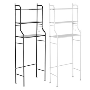 Image 3 - 3 Tier Iron Toilet Towel Storage Rack  Over Bathroom Shelf Organizer for Store Shampoo / Towel etc Accessory High Quality hot