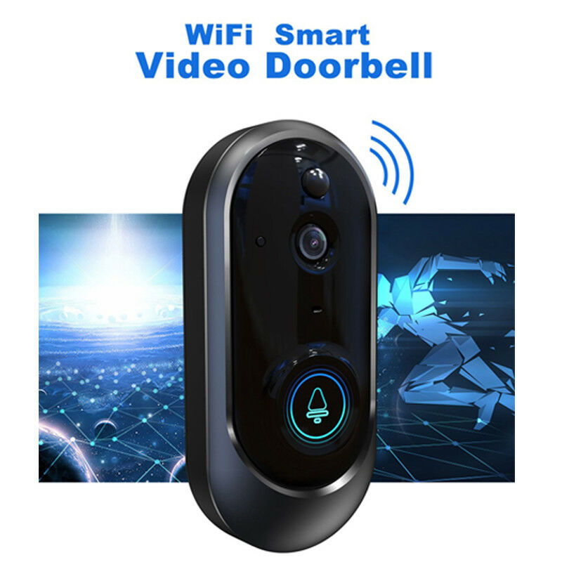 Wireless WiFi Smart DoorBell Video Phone Door Bell Visual Ring Intercom Home SecurityWireless WiFi Smart DoorBell Video Phone Door Bell Visual Ring Intercom Home Security