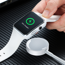 RAXFLY Wireless Magnetic Charger For Apple Watch Series Fast Charging For Apple Watch 4 3 2 Wireless Watch Adapter USB Cable 1M цена в Москве и Питере