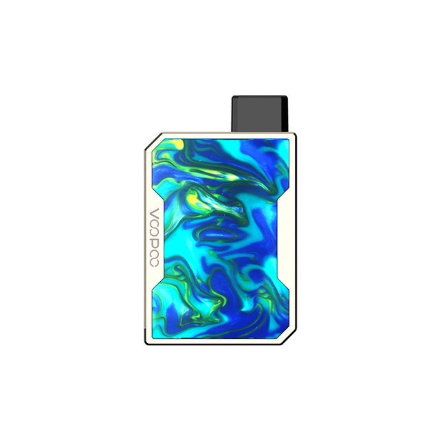 , Newest VOOPOO DRAG Nano Pod Vape Kit w/ 750mAh battery & 1ml Cartridge & GENE chip & Resin panel Pod System vs Drag 2/ Mico Kit