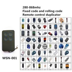 Door-Opener Garage Remote-Control Face-To-Face-Copy 300-868mhz 4-Button for Retail 100pcs
